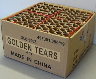100sh 1inch Golden Tears flowerbed
