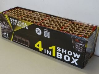 100shots flowerbed 4 in 1 show