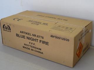 Blue Nightfire 126sh Flowerbed