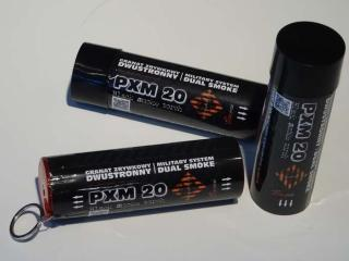 Piromax rookgranaat zwart