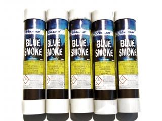 Super rookbom blauw