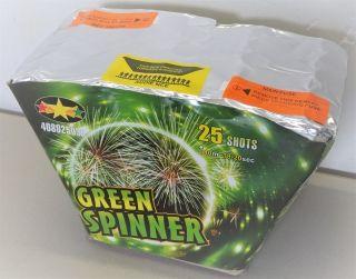 Green Spinner 25sh