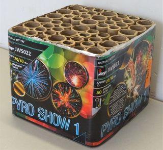 Pyro Show nr 1 - 50sh
